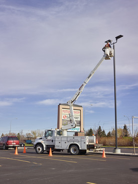 Aerial Bucket Trucks for Electrical Service